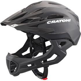 Cratoni C-Maniac Fullface-kypärä, black matt